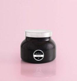 Volcano Candle - Black Jar