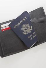 Worldly Passport Holder - Black