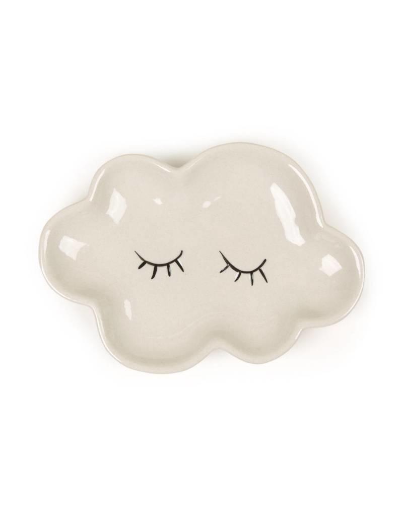 White Cloud Plate