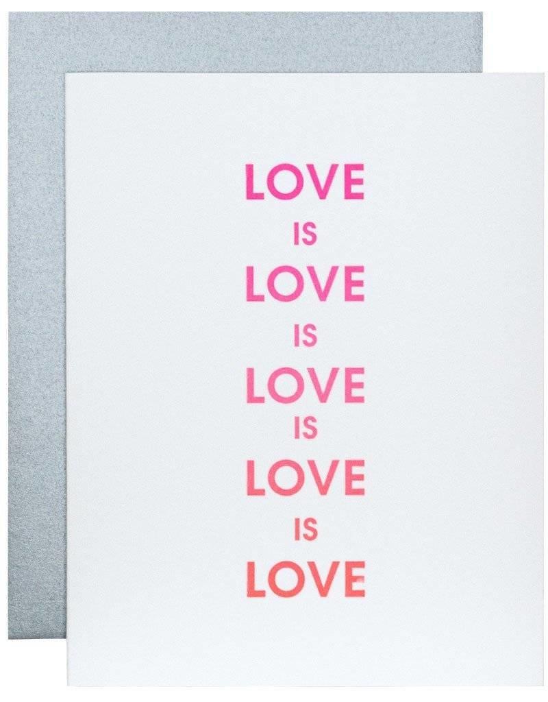 Love is Love Card