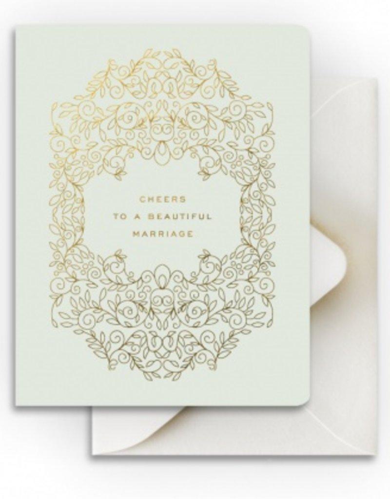Beautiful Marriage Card