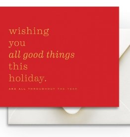 Good Things Holiday Card