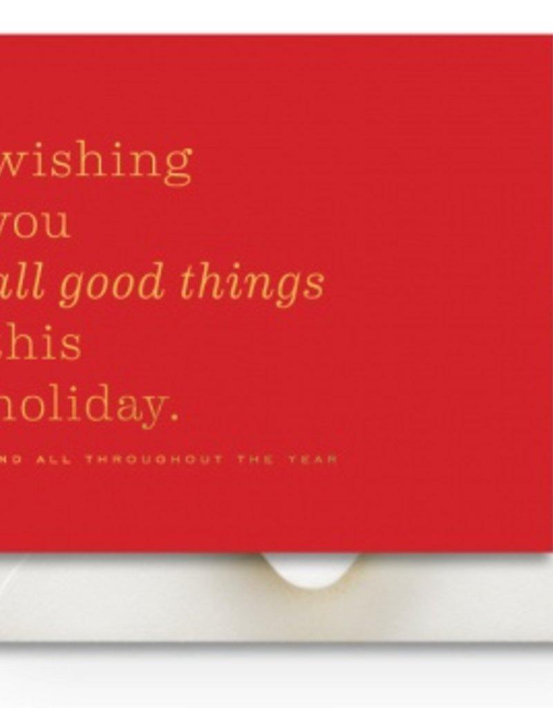 Good Things Holiday Card