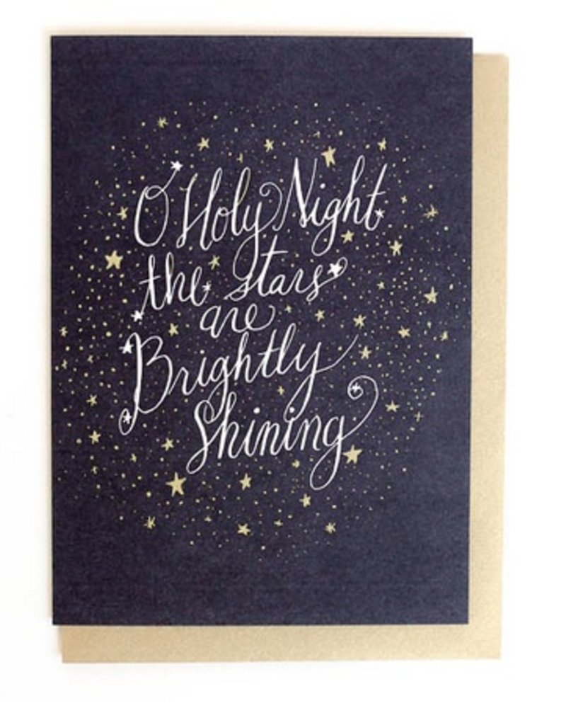 Thimblepress Holy Night Card