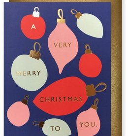 J. Faulkner Retro Ornaments Card - Boxed Set