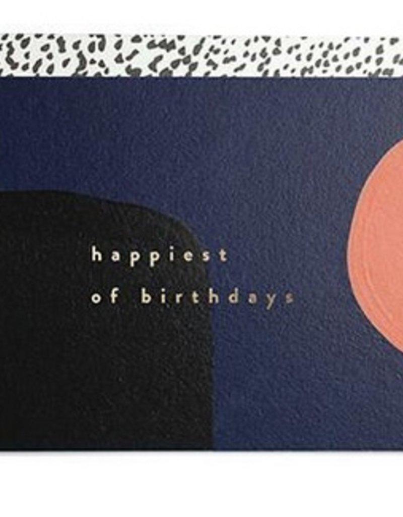 Happiest of Birthdays Card
