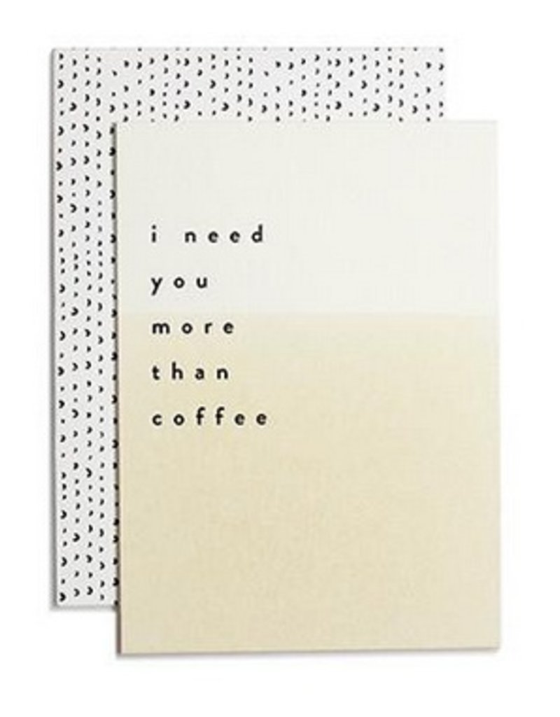 More Than Coffee Card