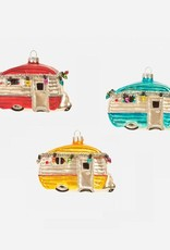 Happy Camper Ornament - Red
