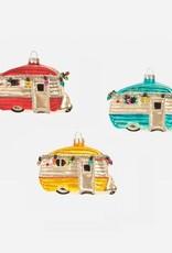 Happy Camper Ornament - Teal
