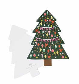 Die Cut Christmas Tree Card