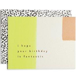 Fantastic Birthday Card