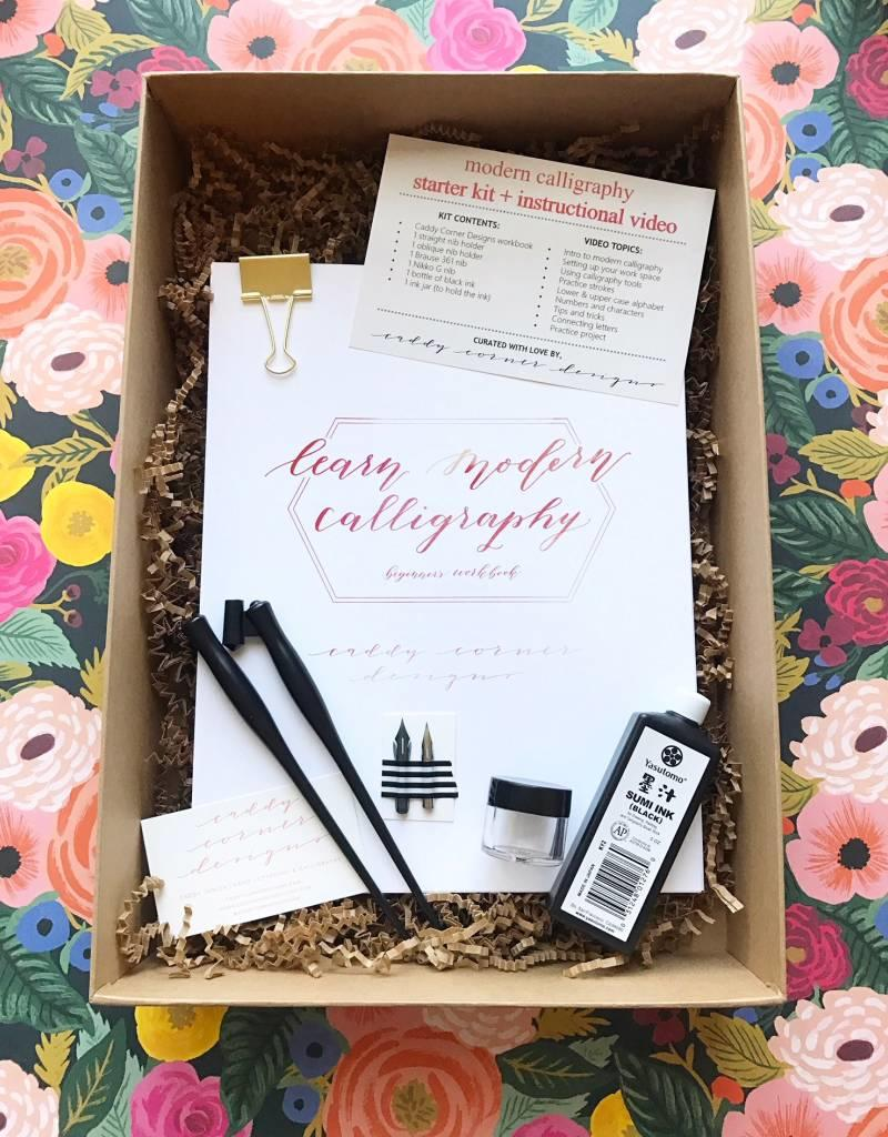 Modern Calligraphy Starter Kit + Video