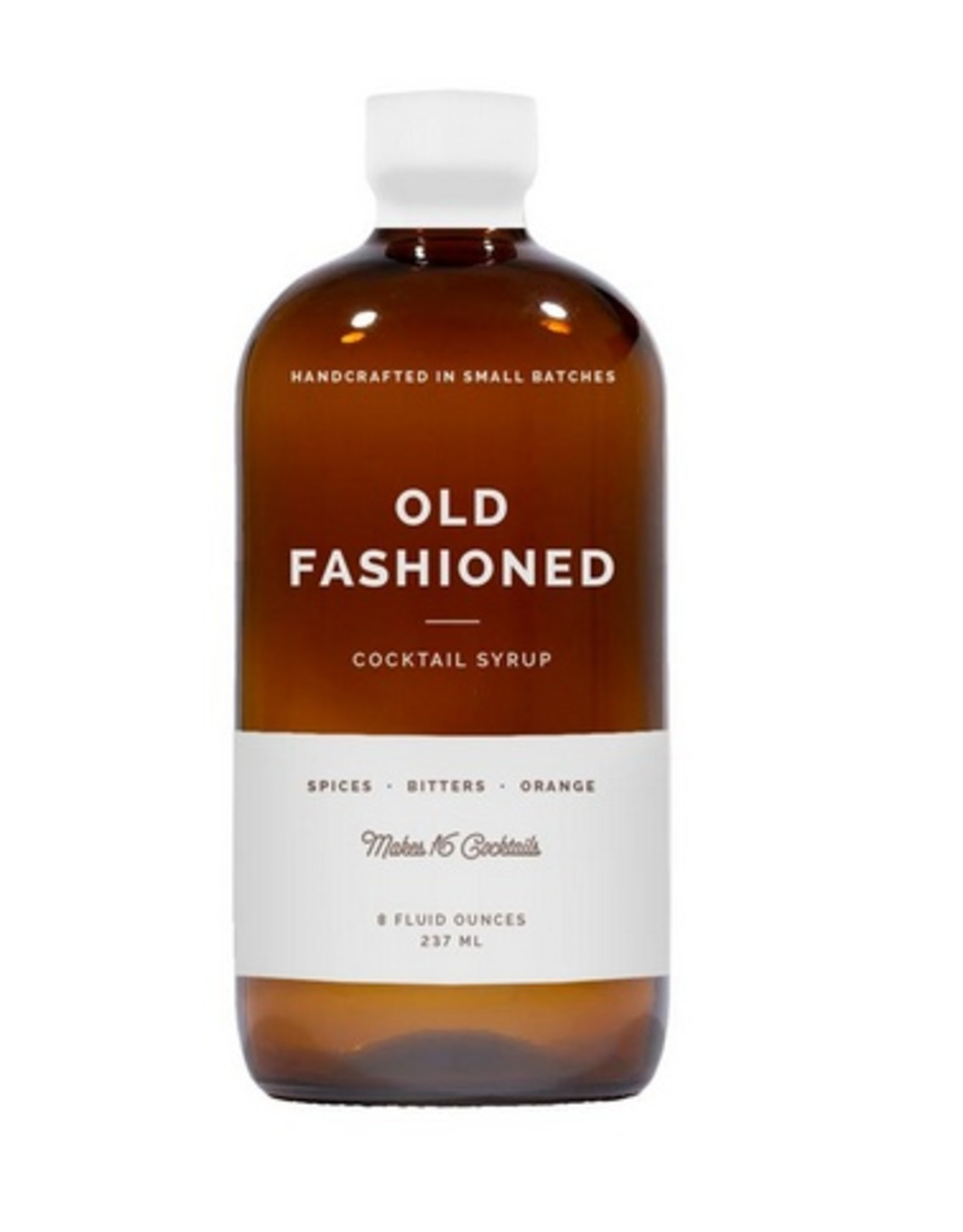 W&P Old Fashioned Cocktail Syrup - 8 oz.