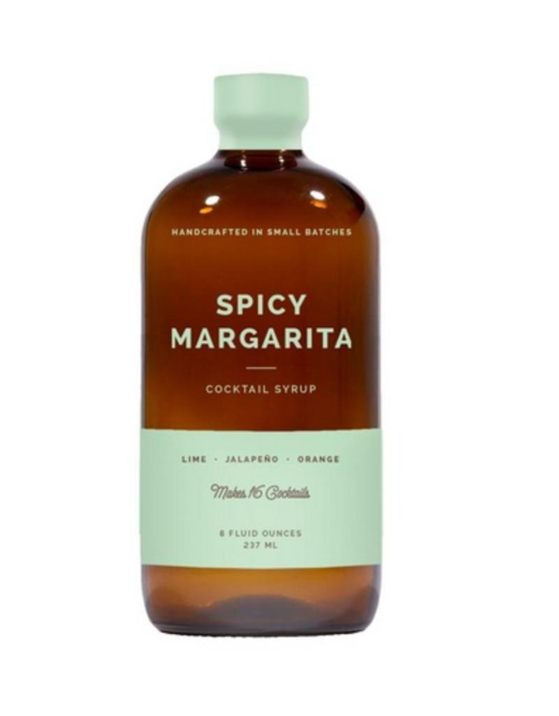 W&P Spicy Margarita Cocktail Syrup - 8 oz.