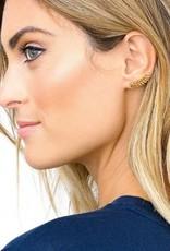 Gorjana Olympia Ear Climbers - Gold