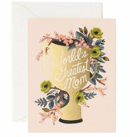 World's Greatest Mom Card