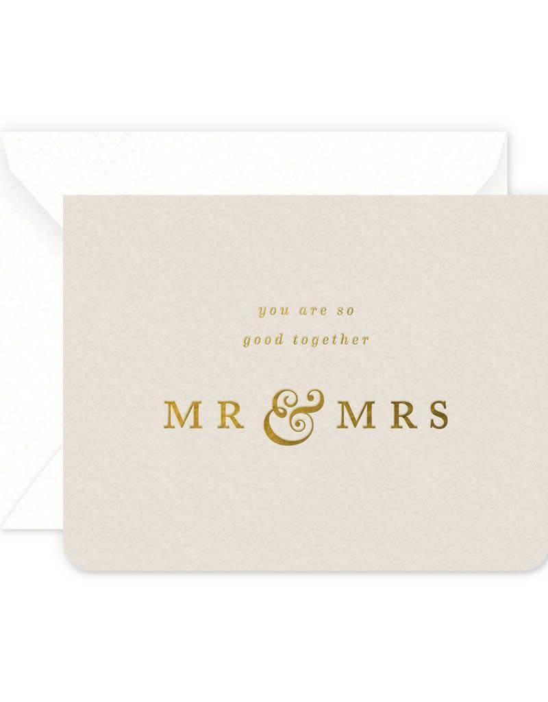 Mr. & Mrs. Good Together Card