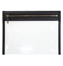 Clarity Clutch Large - Black