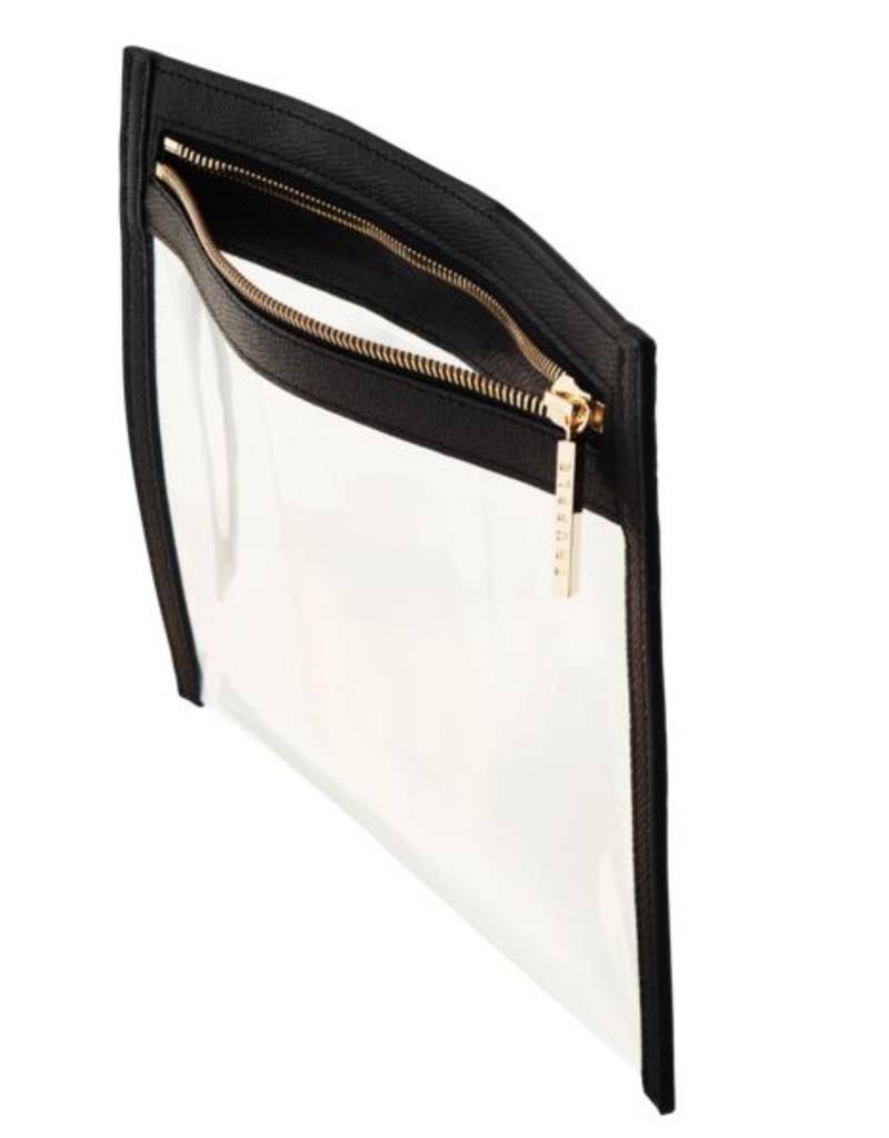 Clarity Clutch Large - Black