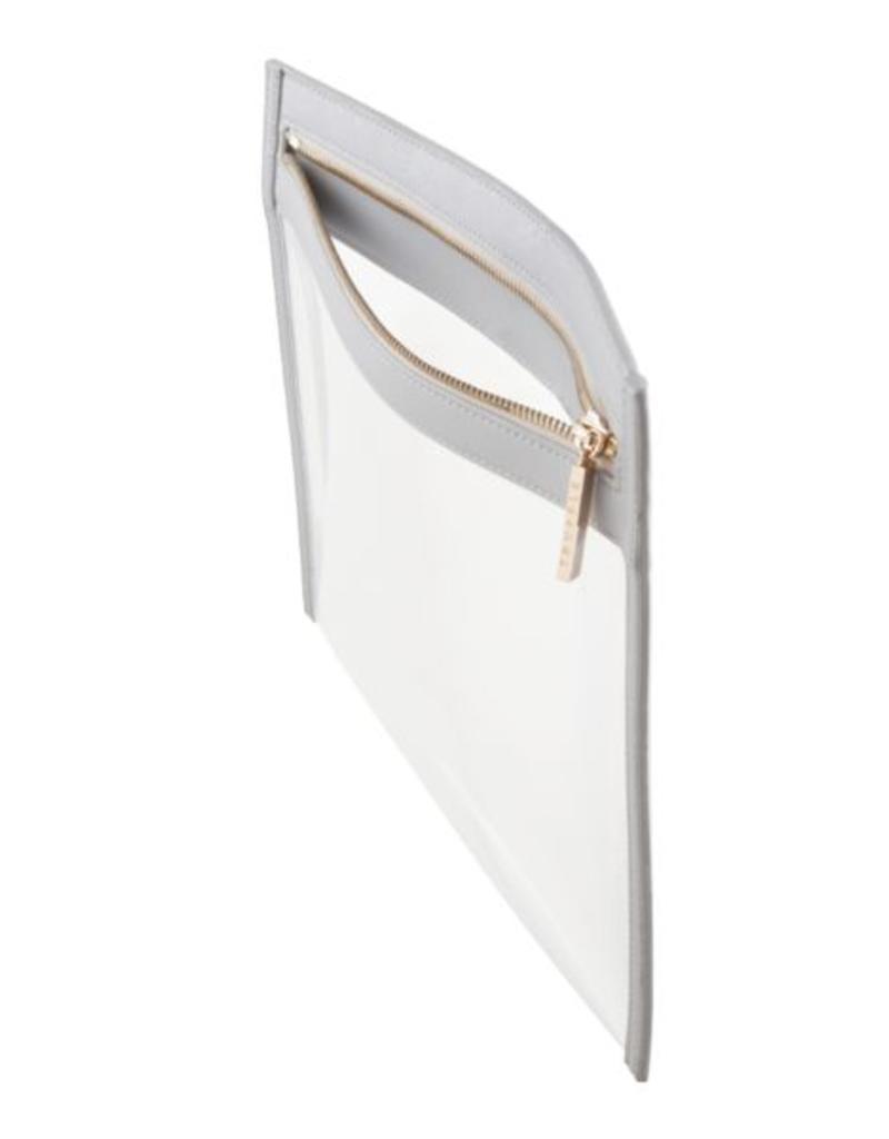 Clarity Clutch Small - Dove Grey