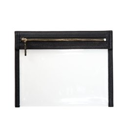 Clarity Clutch Small - Black