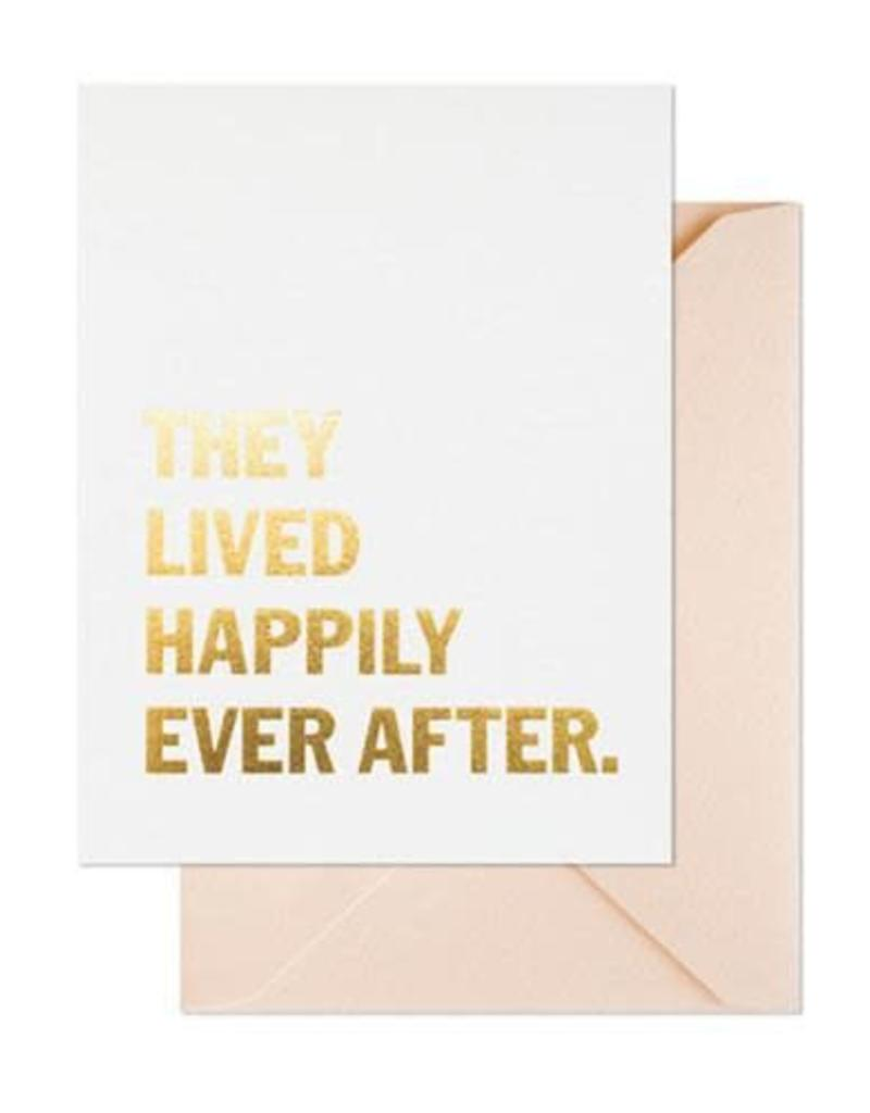 Lived Happily Card