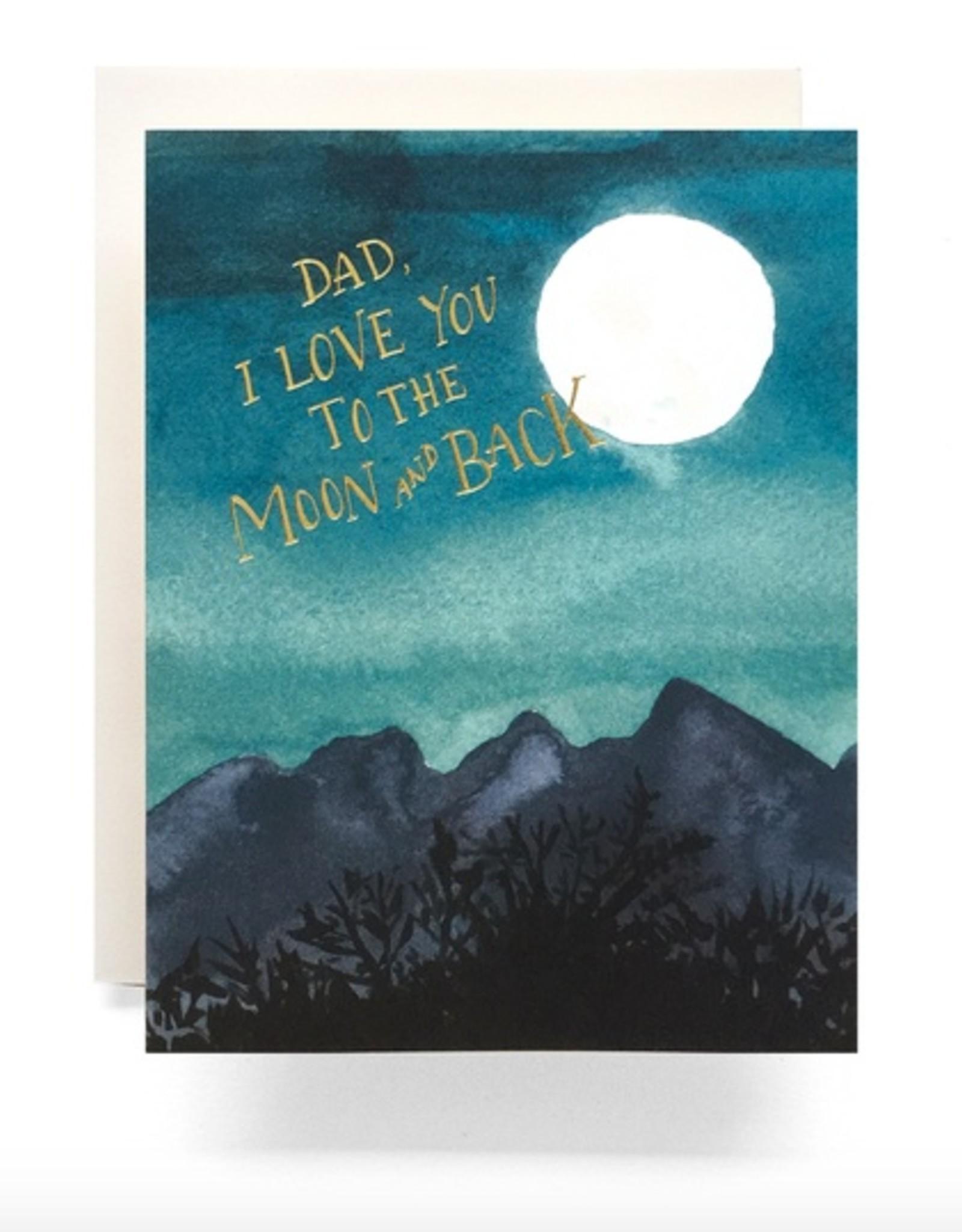 Moon Dad Card