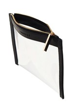 Clarity Clutch Mini - Black