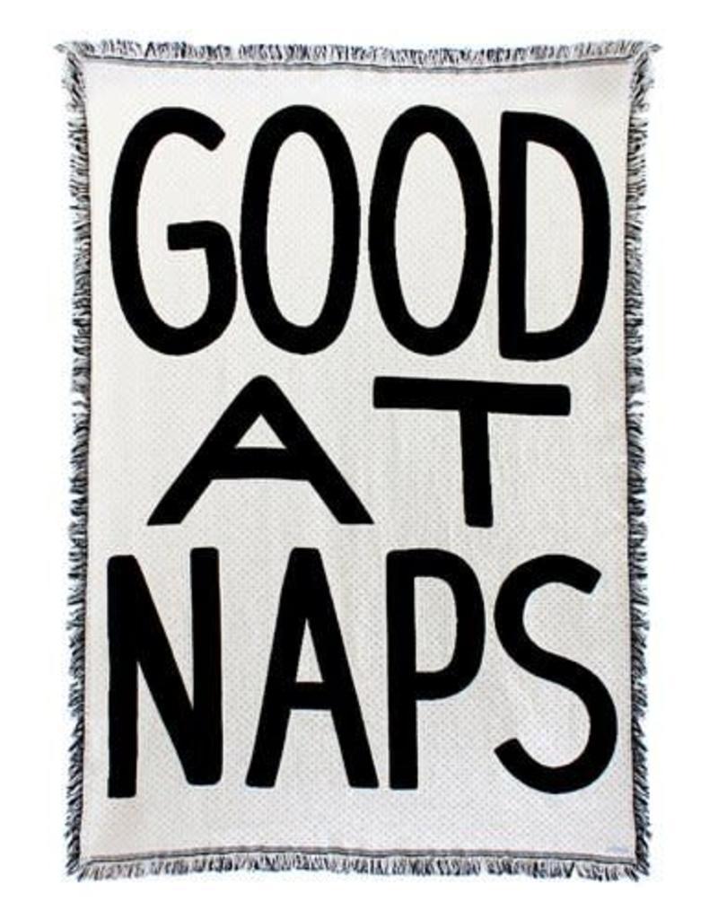 Good at Naps Blanket