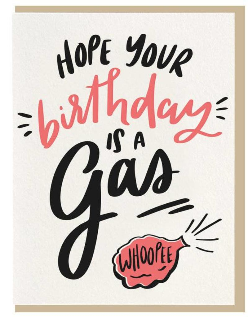 Hope Your Birthday Is A Gas Card