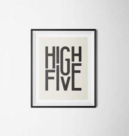 High Five Print - 8x10
