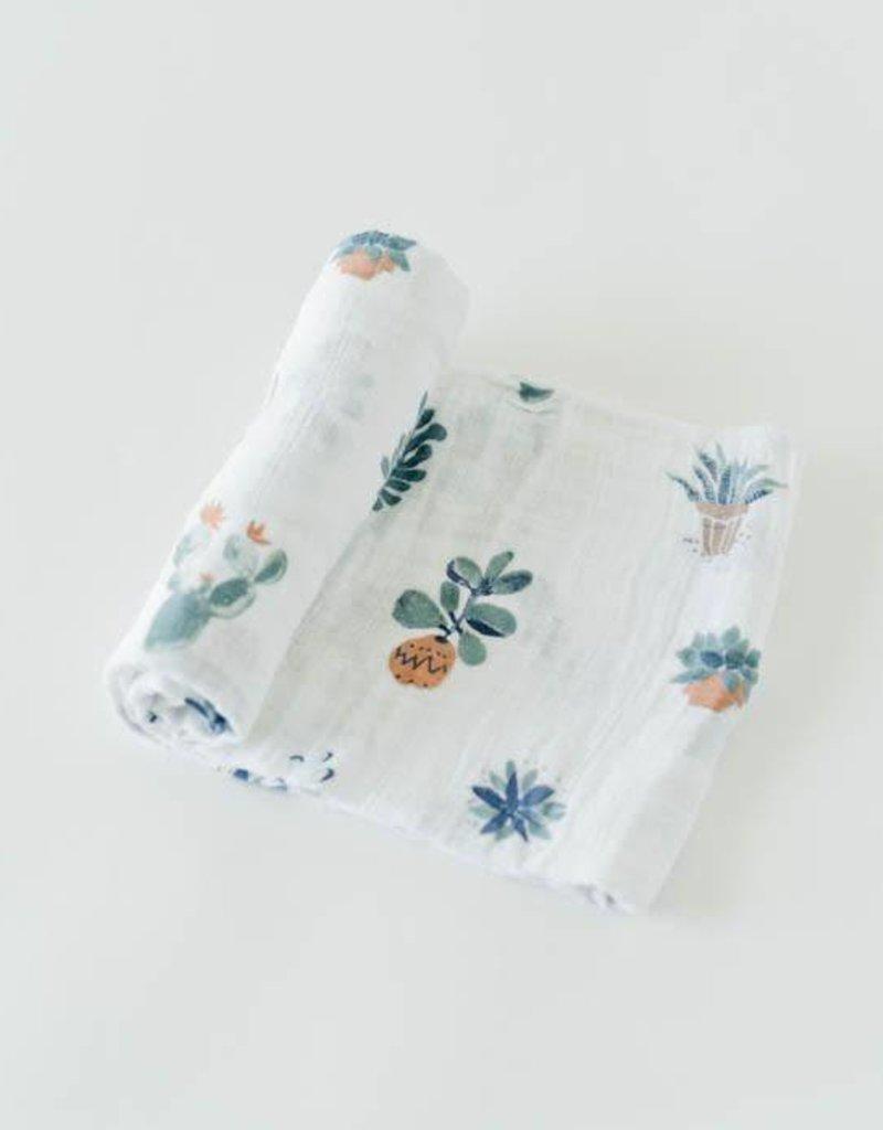 Cotton Muslin Swaddle Single - Prickle Pots