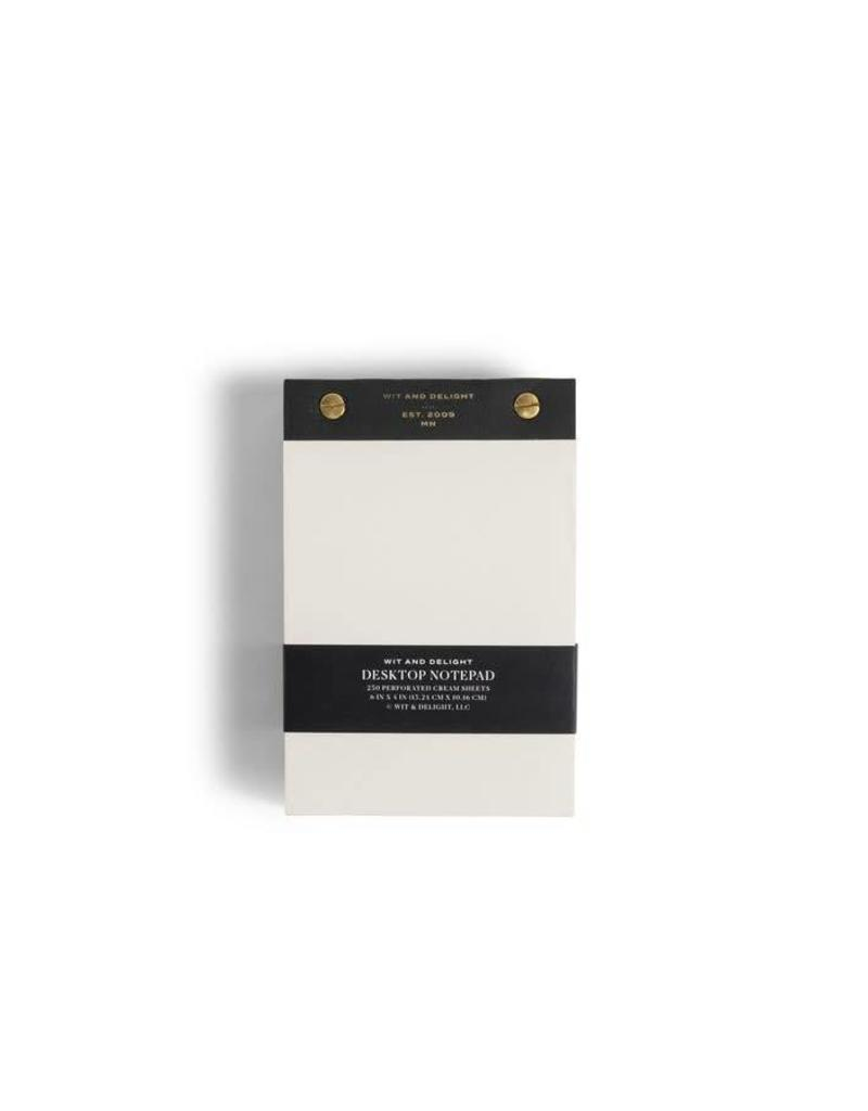 Desktop Notepad - Black