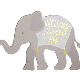 Baby Elephant Die Cut Card
