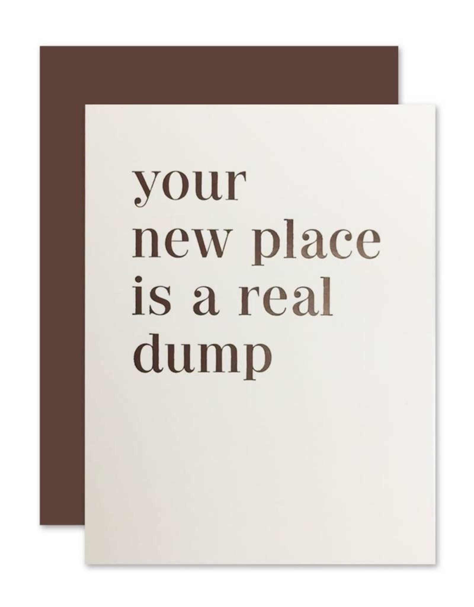 Real Dump Card