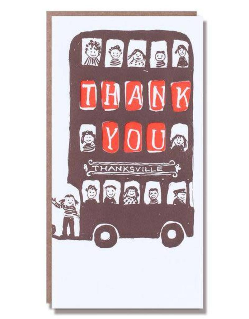 Thank You Bus Card
