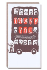 Thank You Bus Card