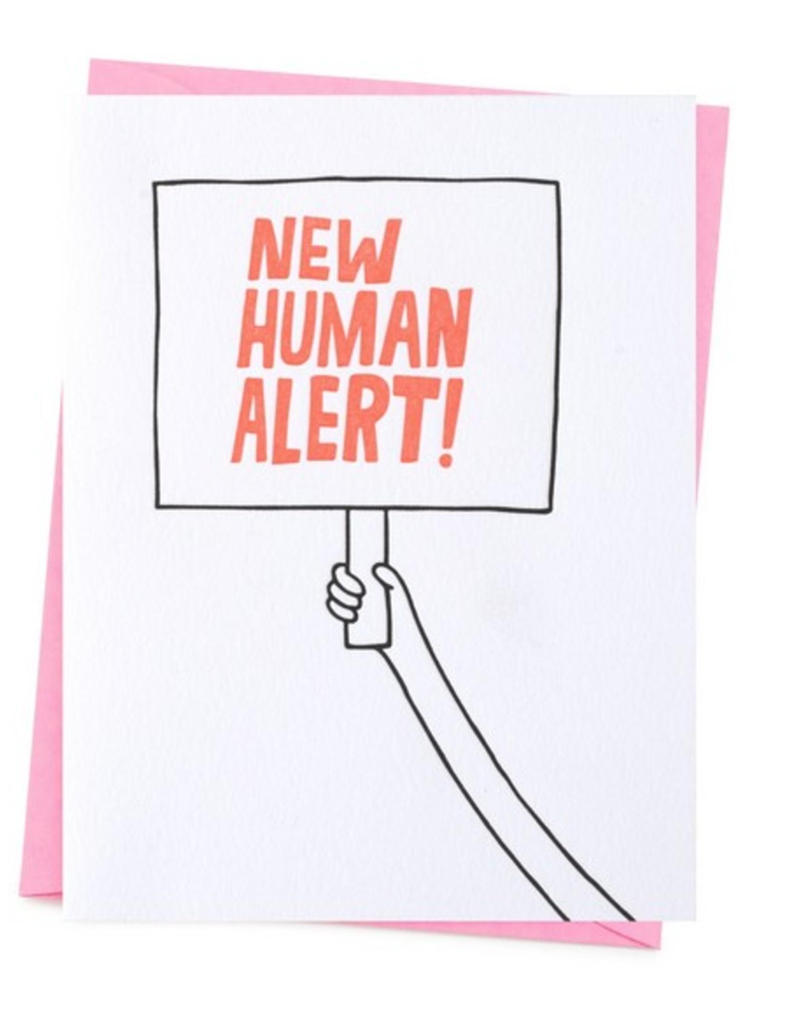 New Human Alert Card