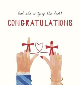 Tie the Knot Card