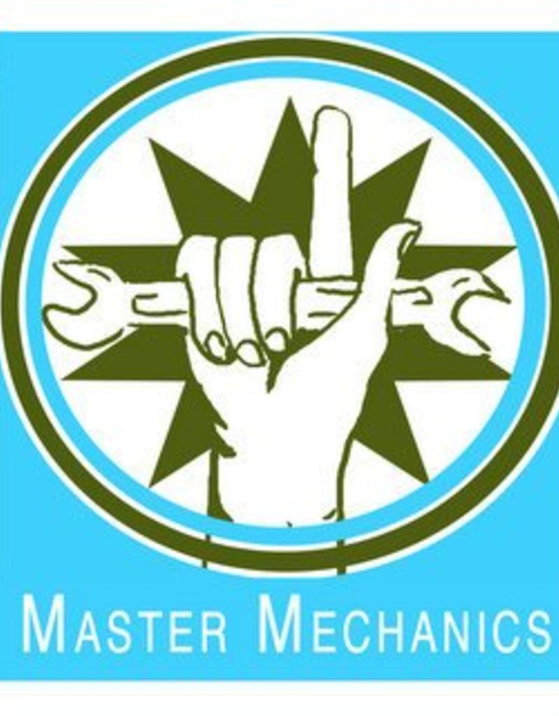 Wednesday Master Mechanics, Mariposa 7-9pm