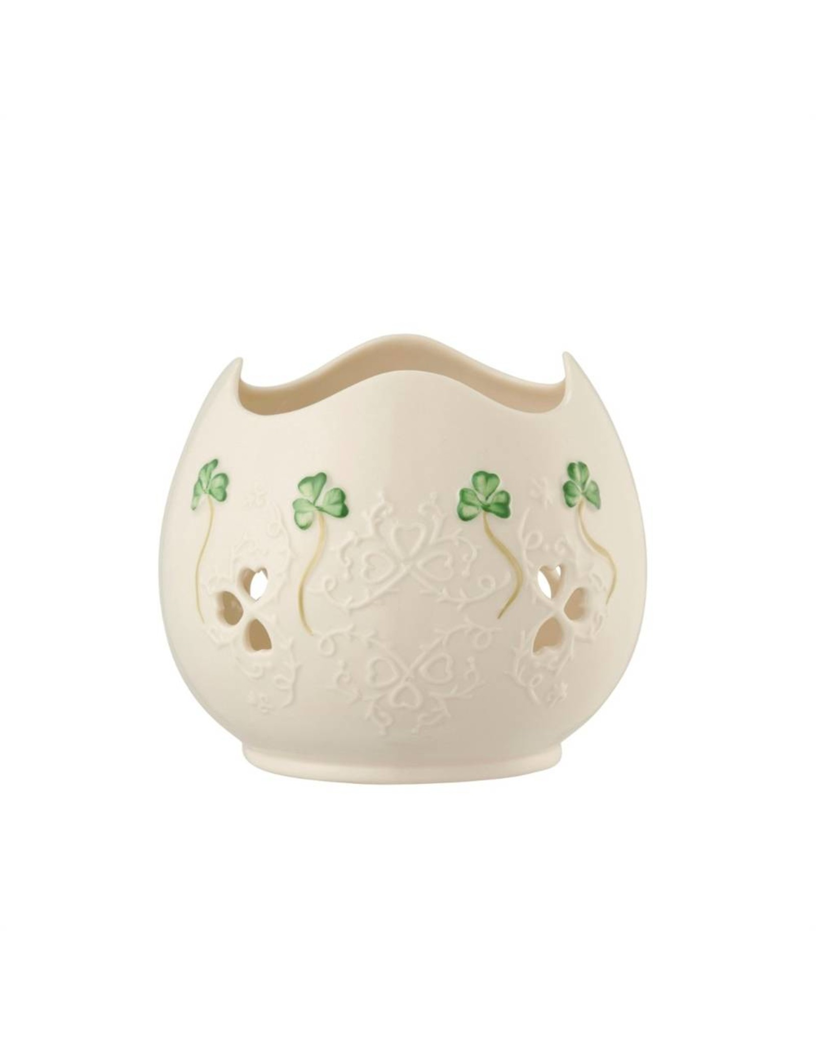 Belleek Belleek Shamrock Lace Votive