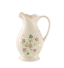 Belleek Belleek Irish Flax Pitcher