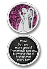 Cathedral Art Bright Mom Angel Token