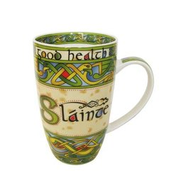 Royal Tara Slainte China Mug:  Irish Weave