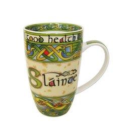 Royal Tara Slainte China Mug:  Irish Weave