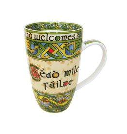 Royal Tara Cead Mile Failte Mug:  Irish Weave