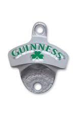 Guinness Guinness Wall Mounted Bottle Opener- Green w/ Shamrock