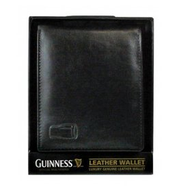 Guinness Guinness Leather Wallet: Black