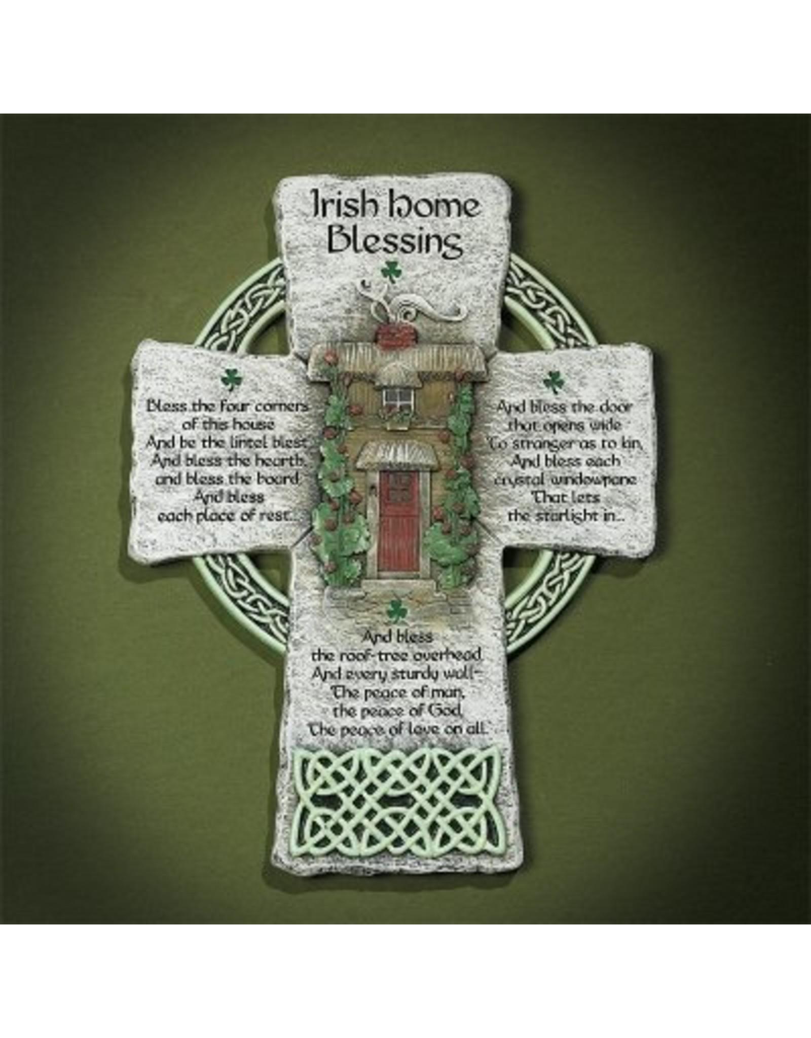 Abbey Press Irish Home Blessing Wall Cross