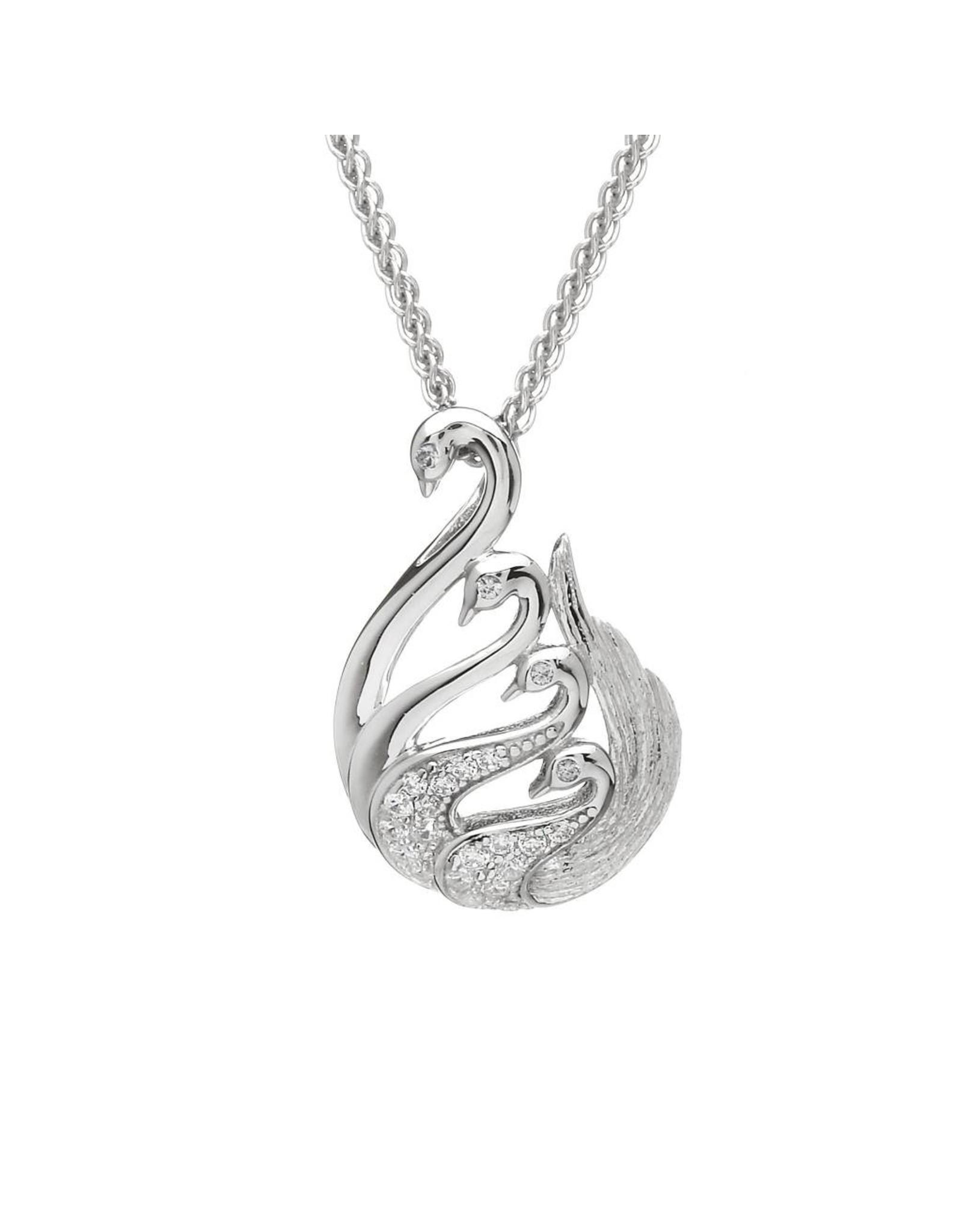 Boru Jewelry Large Legend of Lir  Necklace